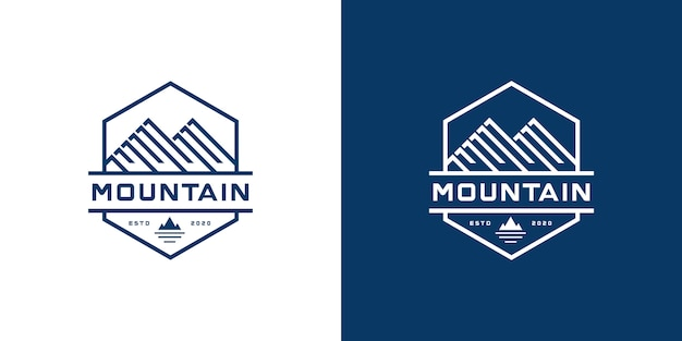 Inspiration für das mountain marketing logo