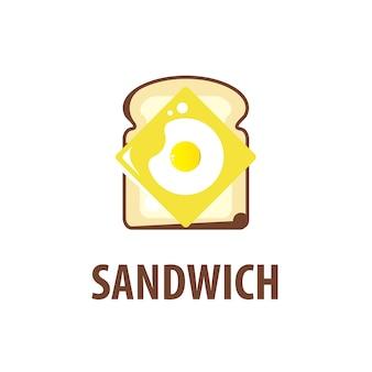 Inspiration für das sandwich-logo-design