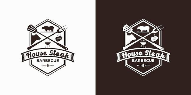 Inspiration für das vintage-steakhouse-logo