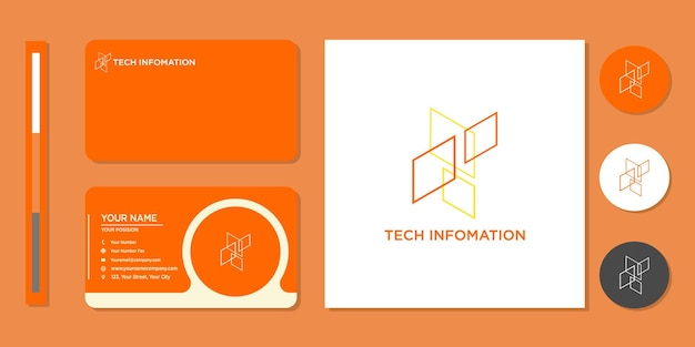 Inspiration für quadrat-, kommunikations-, datenlogo- und visitenkarten-designvorlagen