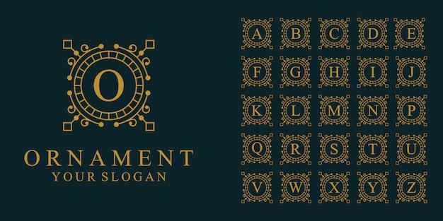Inspirierend mit strichgrafik-logo und visitenkarte bauen