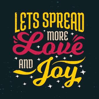 Inspirierende zitate motivationsspruch verbreiten wir mehr liebe und freude