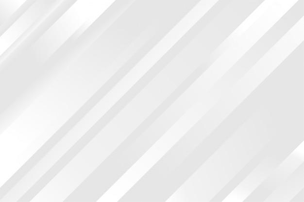 Inspirierender weißer hintergrund mit glänzenden linien