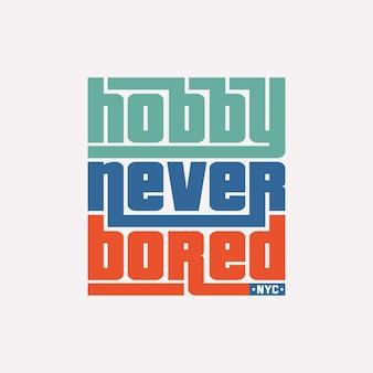 Inspirierendes zitat, das modernes und stilvolles design für t-shirt beschriftet