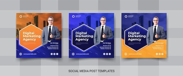 Instagram-banner der agentur für digitales marketing