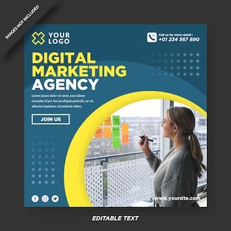 Instagram-design der agentur für digitales marketing