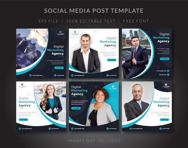 Instagram-feed für digitales marketing