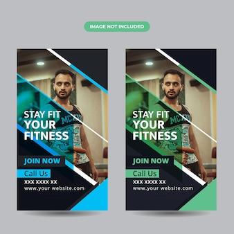 Instagram fitness gym stories