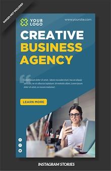 Instagram-geschichte der agentur für digitales marketing
