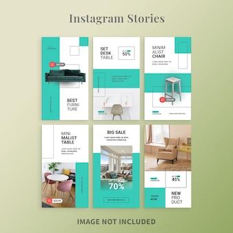 Instagram-geschichten für möbel