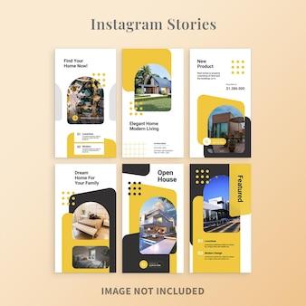 Instagram-geschichten zur immobilienförderung