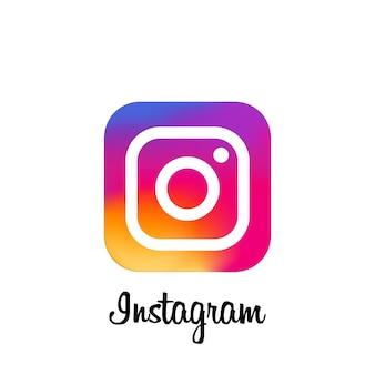 Instagram-hintergrund. instagram-symbol. social-media-symbole. realistische instagram-app. logo. vektor. saporischschja, ukraine - 10. mai 2021
