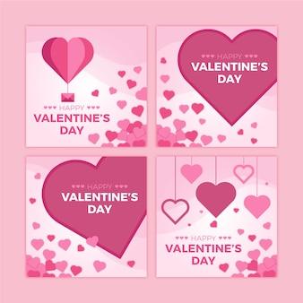 Instagram post valentinstag sammlung