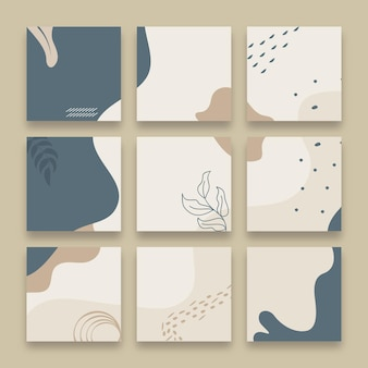 Instagram puzzle feed pack design
