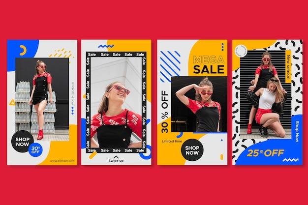 Instagram sale stories sammlung