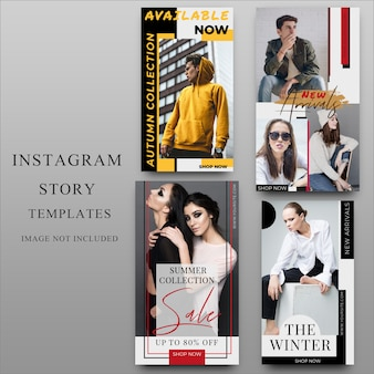 Instagram-story für social media-vorlage