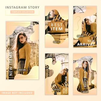Instagram story template sammlung