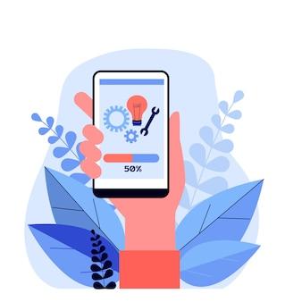 Installation der smartphone-app