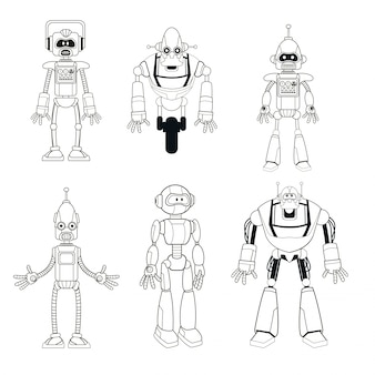 Intelligente dünne linie der sammlungsroboter-technologie