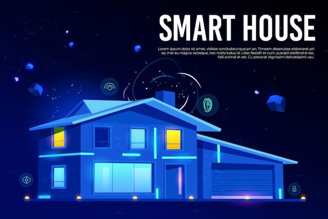 Intelligente technologie für haustechnik und künstliche intelligenz