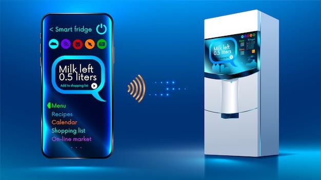 Intelligenter kühlschrank