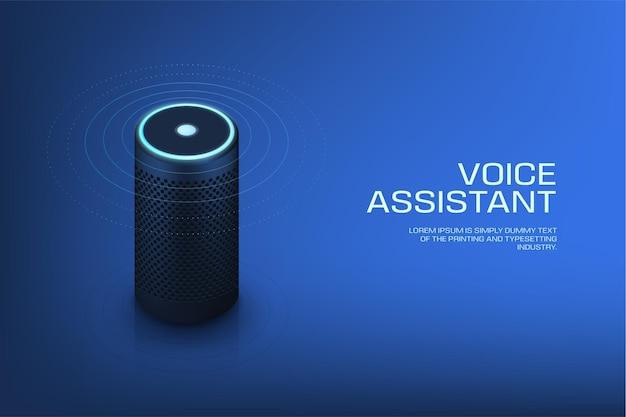 Intelligenter lautsprecher mit sprachassistent