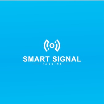 Intelligentes signal-logo-design