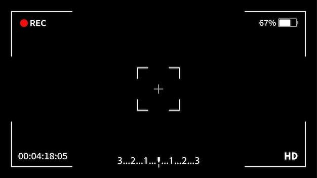 Interface sucher digitalkamera.