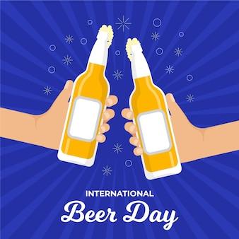Internationale feier zum biertag