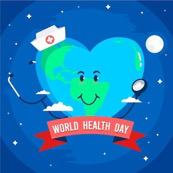 Internationale feier zum weltgesundheitstag