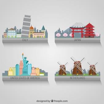 Internationale Landschaft