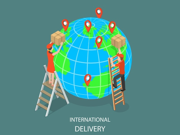 Internationale lieferung