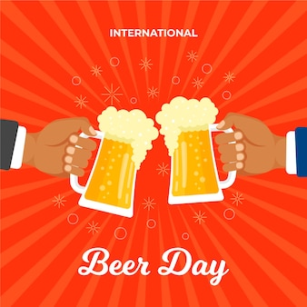 Internationaler biertag feiern