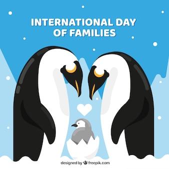 Internationaler familientageshintergrund