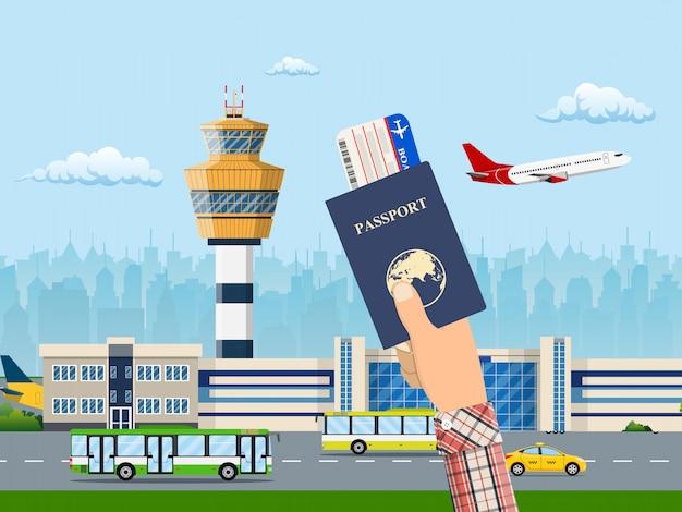 Internationaler flughafen