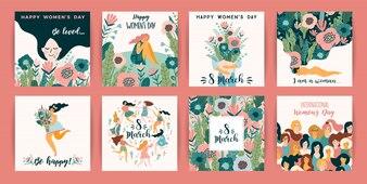Internationaler Frauentag.