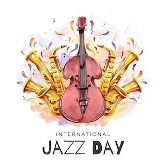 Internationaler jazz day event