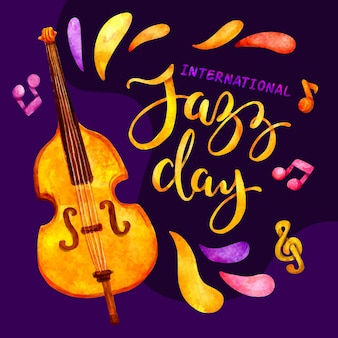 Internationaler jazz tag mit cello