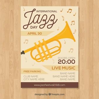 Internationaler jazztag poster