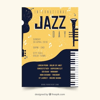 Internationaler jazztag poster