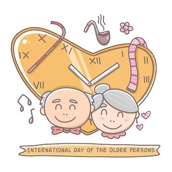 Internationaler tag älterer menschen