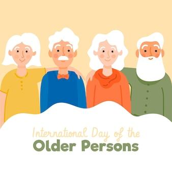 Internationaler tag der älteren menschen