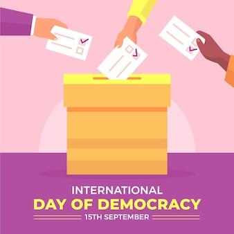 Internationaler tag der demokratie
