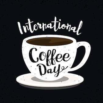 Internationaler tag der kaffeebeschriftung