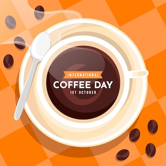 Internationaler tag der kaffeefeier