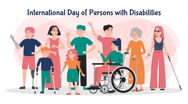 Internationaler tag der menschen mit behinderungen bann