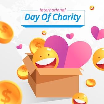 Internationaler tag der wohltätigkeitsfeier