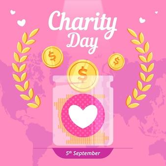 Internationaler tag der wohltätigkeitsveranstaltung