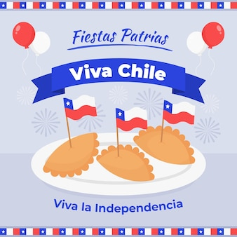Internationaler tag des chile-themas