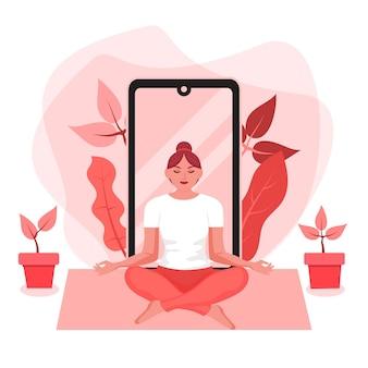 Internationaler tag des yoga inner peace online-kurse